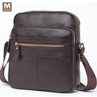 MONOLETH Genuine Leather Ipad Mini Bags Leisure Business Single Shoulder Bag Computer Bag Casual Briefcase Brand