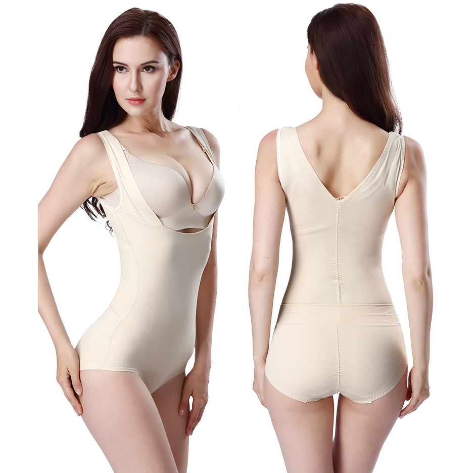 1b5acf8104 Ultra thin Ms after seamless slimming clothes drawing abdomen waist one  piece shaper beauty care clothing shapewear body shaping-in Bodysuits from  Underwear ...
