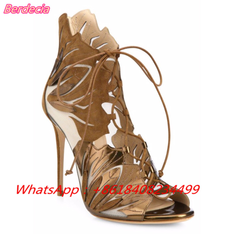 Cross-tied Super High Heels Women Sandals Sexy Peep Toe Thin Heels Shoes Women Lace-up Women Party Shoes Casual Sandals