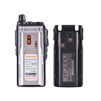 מכשיר הקשר 100% Baofeng UV82 מכשיר הקשר Dual Band Ham Radio אינטרקום UV82 שני הדרך רדיו VHF UHF Hf ציד Portable משדר UV 82 (5)