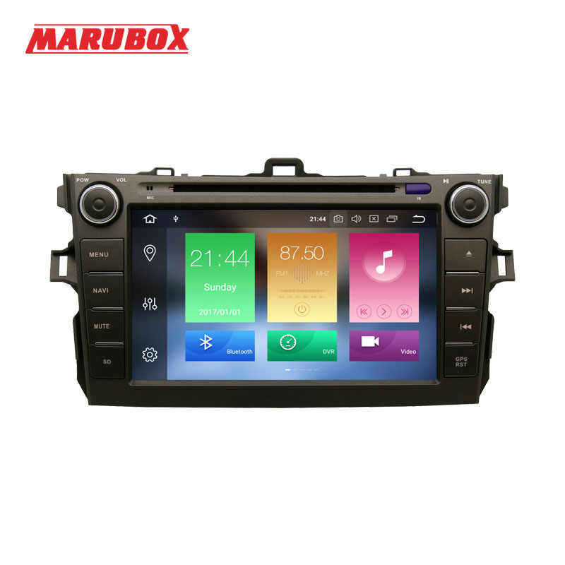 "MARUBOX 2Din Android 8.0 4GB RAM 8"" For Toyota Corolla 2007-2011 Car Multimedia Player DVD GPS Navigation Stereo Radio 8A105PX5"