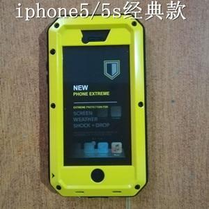 Image 5 - Corps complet Housse De Protection pour iPhone 7 Plus Étui 360 Dur Antichoc En Aluminium En Métal étui pour iPhone 8 Plus Gorilla Glas
