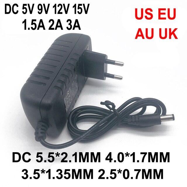Универсальный адаптер питания, 5 В, 9 В, 12 В, 15 в, 100 А, 2 А, 3 А переменного тока, 240 в