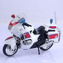 Police Motorcycle Toys DIY Assembly Alloy Police Motorcycle Model Kids Children Boys