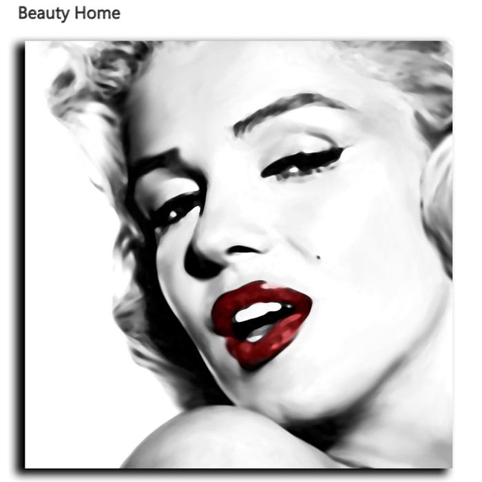 Marilyn Monroe Cuadro Classical Marilyn Monroe Artwork Modern Paintings Wall