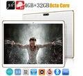 Tablet pc 9.6 polegada Octa core bluetooth wifi GPS 1280*800 5.1MID 5.0MP 4 GB 32 GB Android 3G WCDMA Phablet DHL Livre grátis
