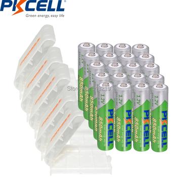 20 sztuk PKCELL AAA bateria 850mAh 1 2V NI-MH AAA niskie samorozładowanie 3A akumulatory i 5 sztuk opakowanie na baterie uchwyt AA AAA tanie i dobre opinie AAA850mah 850 mAh Baterie Tylko Pakiet 1 20pcs Guangdong China (Mainland) 10 5*44 5MM 200 mA 20pcs aaa850+5pcs battery box