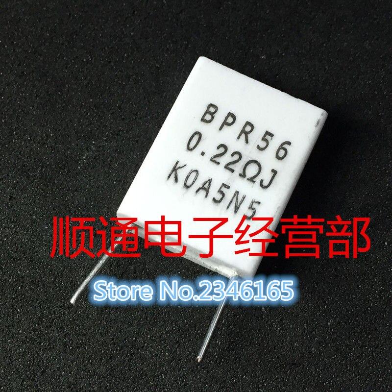 10pcs BPR56 5W  0.22ohm