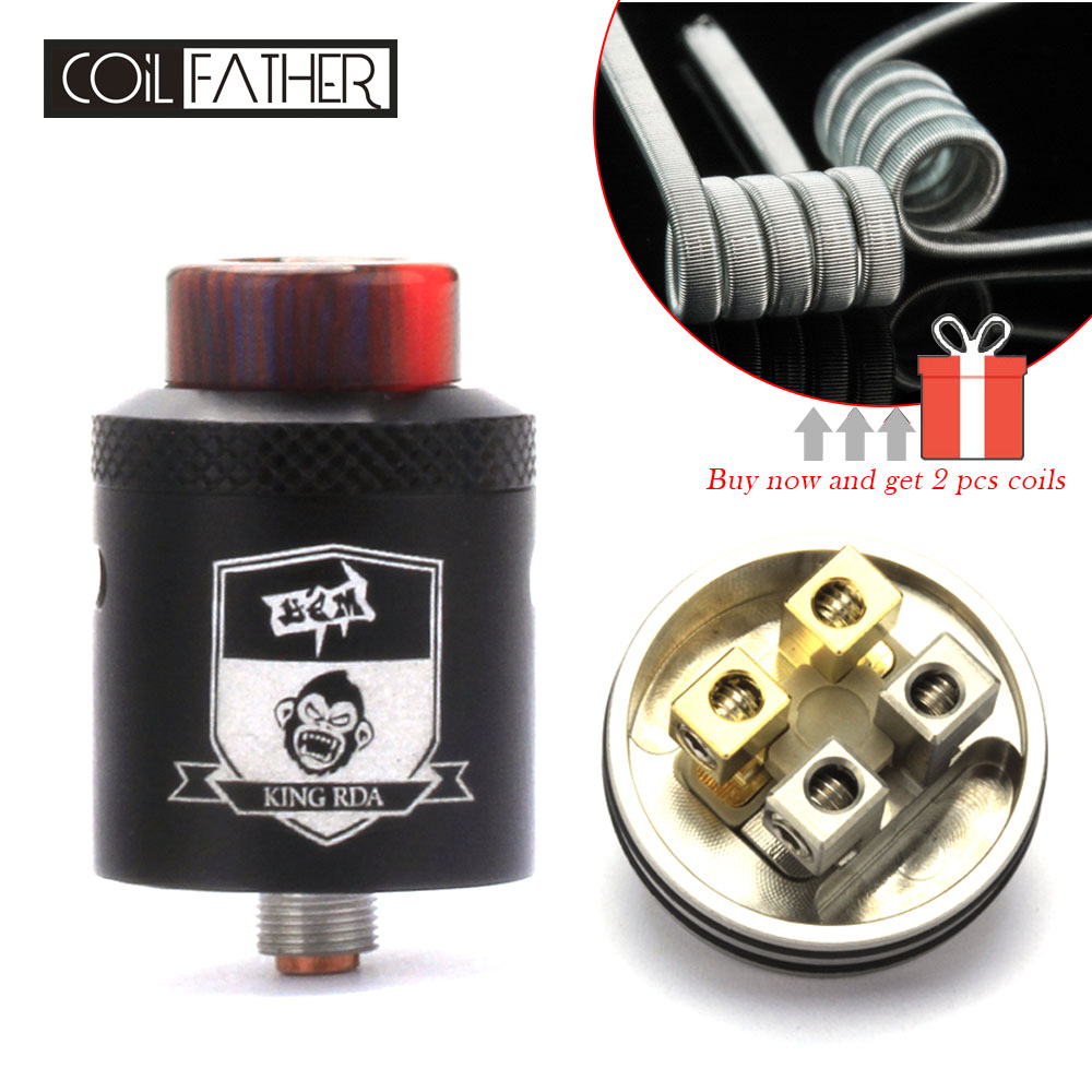 Coil Father King RDA Atomizer 24mm Diameter 510/81...