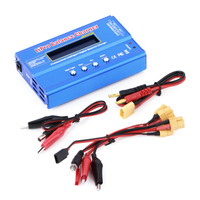 Battery Balance Charger DC 12 16V 80W With XT60 Plug Professional For Imax B6 AN88