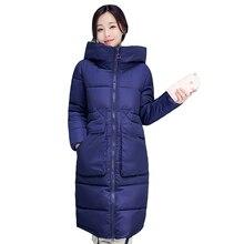 Женщины Пальто зимняя куртка Женщин Пуховик 2016 Хлопок мягкий Девушки толще Корейской версии большой ярдов был тонкий пальто