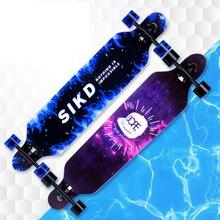 Professional Skateboard Street Road Longboard Maple Skate Board 4 Wheel Downhill Street Dancing Long Board