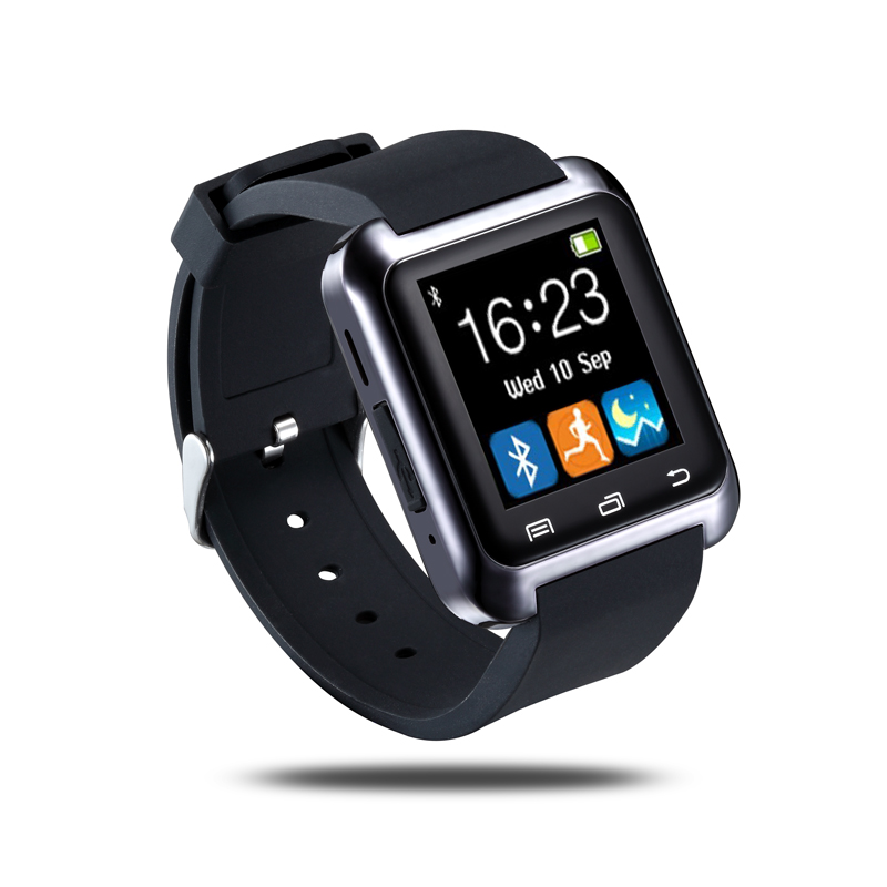 Smart Watch Bluetooth U8 Smartwatch U80 untuk iPhone 6/5 S Samsung S6 / Note 4 Ponsel Android HTC Android Memakai Android