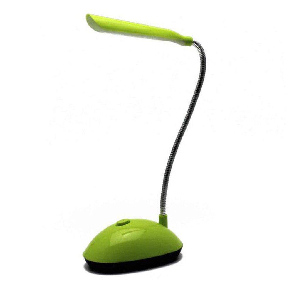 Mini Batterie Powered Studie Flexible 4 Leds Readig Schlafzimmer Hohe Lumen Schreibtisch Lampe Tisch Licht Augenschutz Flimmern-freies