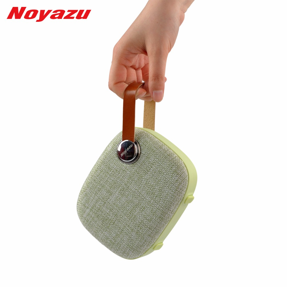Noyazu T200 Portable tissu Art sans fil Bluetooth haut-parleur étanche à la pluie USB TF carte jouer mains libres extérieur voyage haut-parleur