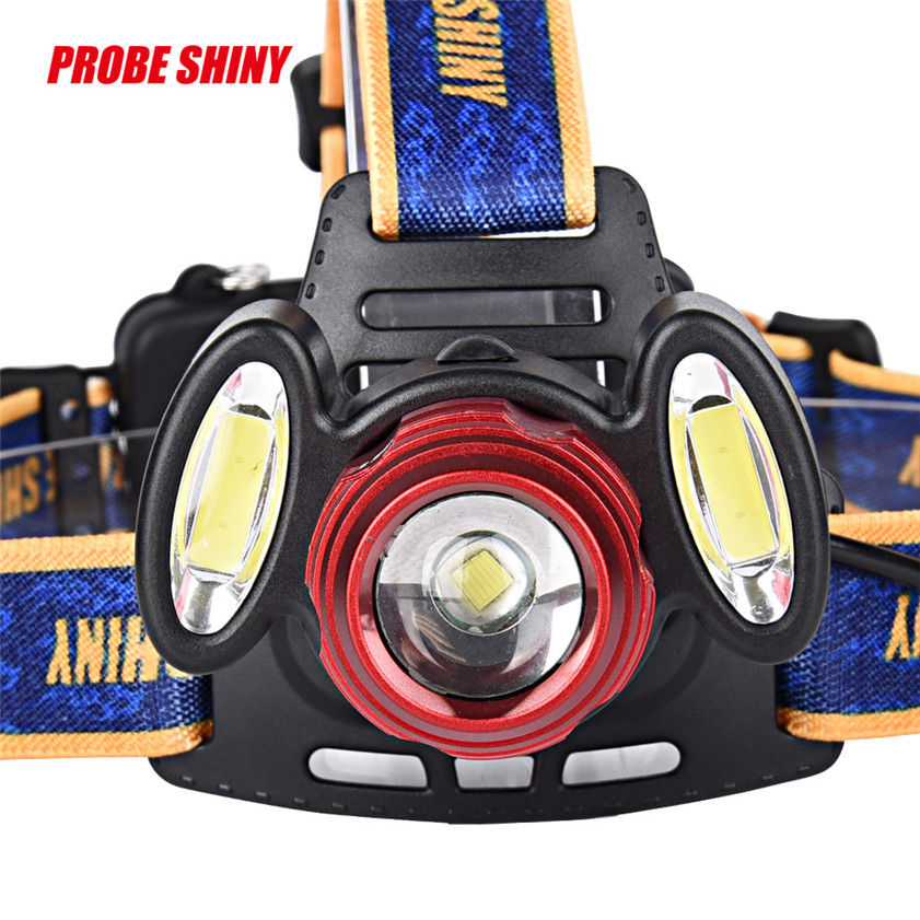 Faithful High Quality 15000lm 3x Xml T6 Rechargeable Headlamp Headlight Torch Usb Lamp+18650+charger