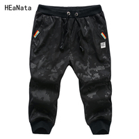 Men S Shorts Summer Casual Skinny Sweatpants Camouflage Fitness Gyms Trousers Fashion Men Jogger Sportwear Cargo