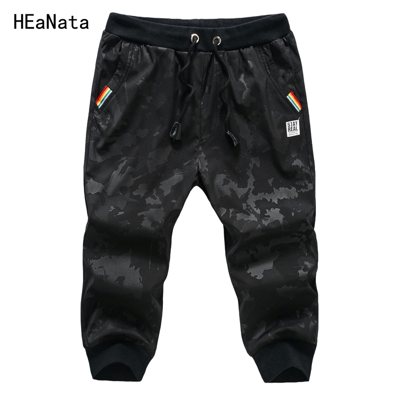 Mens Shorts Summer Casual Skinny Sweatpants Camouflage Fitness Gyms Trousers Fashion Men Jogger Sportwear Cargo Shorts