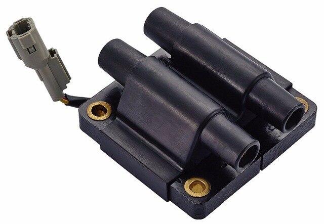 להפליא 12V Ignition Coil For SUBARU Impreza Legacy UF160 5C1273 C1058 AO-68