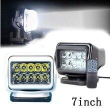 1 stück 7 zoll fernbedienung Schalter suche licht auto spot-licht 50 watt led suchlicht 12 v für boot Auto Jagd Arbeitslampe