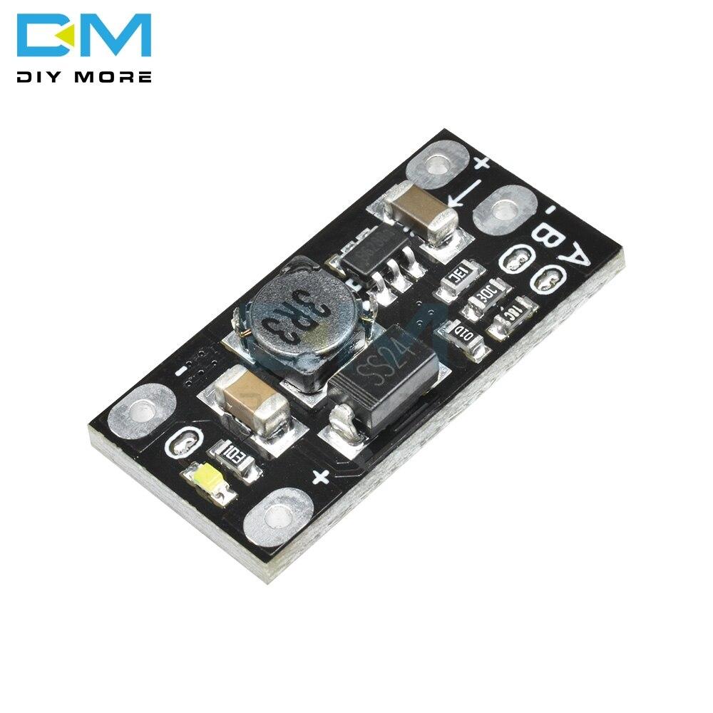 5PCS Newest Multi-function Mini Boost Module Step Up Board 5V/8V/9V/12V 1.5A LED Indicator Diy Electronic Voltage Module