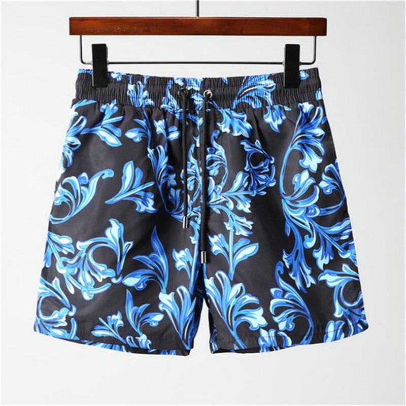2018 summer new brand Hot Men Beach Shorts Quick Dry Medusa Printing Board Shorts Men Top quality SIZE M 3XL