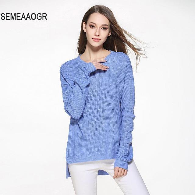 Aliexpress.com : Buy Oversized Sweater Women Jumper 2017 ...