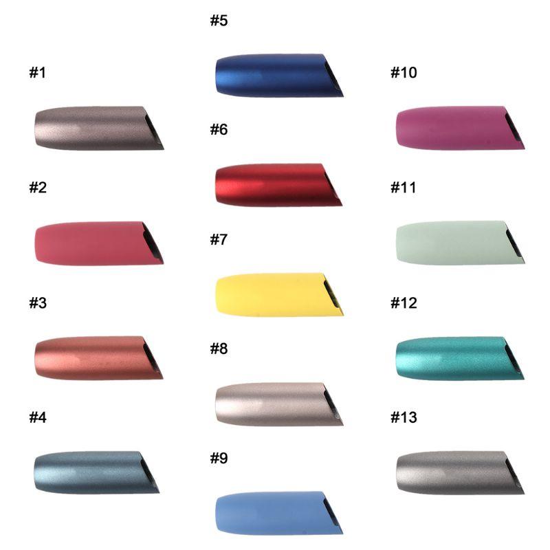 E Cigarette Accessories Mouthpiece Shell Cap Aluminum Protective Case For IQOS 3.0 Cap Replacement Part Outer Case