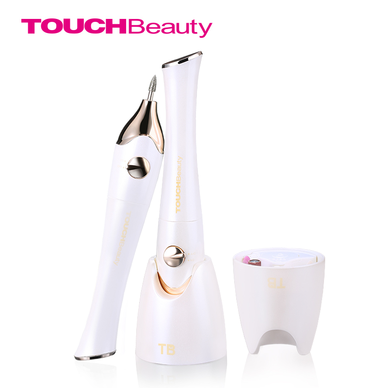 TOUCHBeauty 2 in 1 Electric Nail File & Nail Polish Dryer UV Lamp, with 5pcs Drills in Storage Base TB-1335G in garden жидкость nail polish remover 100 мл