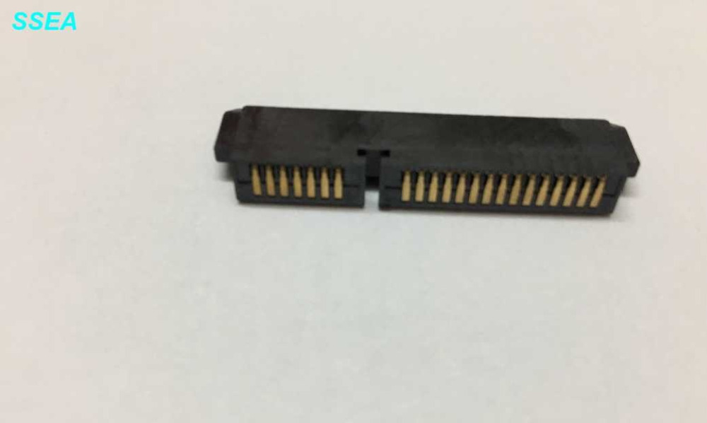 WZSM NEW Laptop HDD Interface for DELL Studio 1745 1747 1749 SATA Hard Disk Driver connector original laptop sata hard disk drive interface connector for m17x r1 17d r5 hdd interface connector dc02c004200