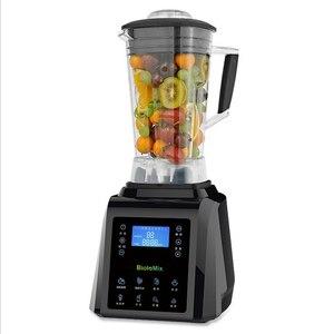 Image 1 - אוטומטי דיגיטלי מסך מגע 3HP BPA משלוח 2L מקצועי בלנדר מיקסר מסחטה גבוהה כוח מעבד מזון ירוק פירות שייקים