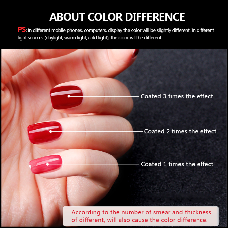 Nail Art Design Manicure Venalisa Lily Angel 7 3ml 110colors Soak Off Led Uv Gel Polish Lamp Polishes Lacquer 1 24 In From Beauty