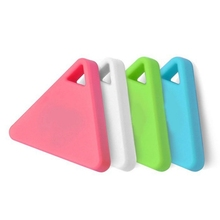 Triangle Smart Tag Wireless Bluetooth 4.0 Tracker Kid Child Bag Wallet Key Pet GPS Locator Alarm Anti-lost Keychain Finder hot~ smart tag wireless bluetooth 4 0 tracker wallet key keychain finder gps locator anti lost alarm system 3 colors to choose