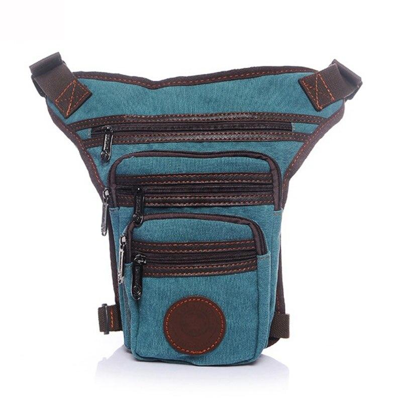 Messenger Coffee Trekking Bum Moto Blue Viaggi Hip Nuovi A Canvas blue Mezzo Pack Per Cavallo khaki Goccia Gamba Fanny Tracolla light Borsa Uomini ZZXq6SU