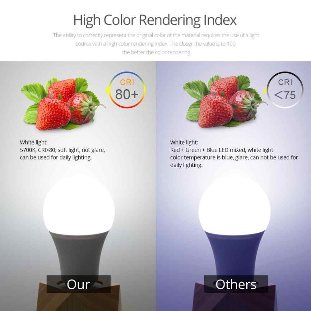 Smart Dimmable LED Bulb Bluetooth Aplikasi LED Lampu Bohlam E27 RGB 15W AC85-265V Nirkabel Magic Lampu LED Kontrol Musik rumah Lampu
