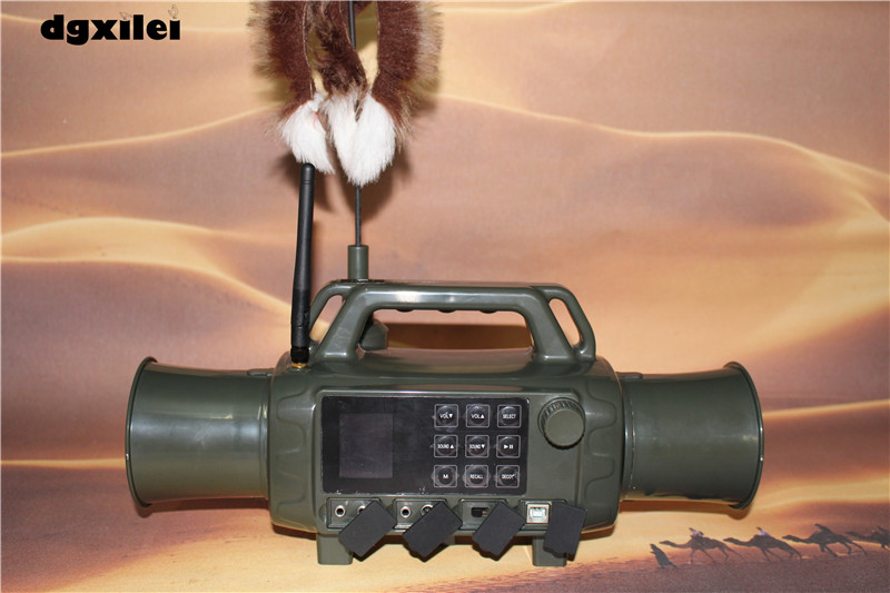Outdoor Hunting Animal Bird Caller Device Decoy Bird Sound Loudspeaker CP-580 Shooting Dual Speakers Two-way Remote Control