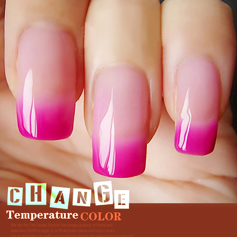 Y&S 15ml Temperature Color Changing Gel Nail Polish UV Soak Off Nail ...