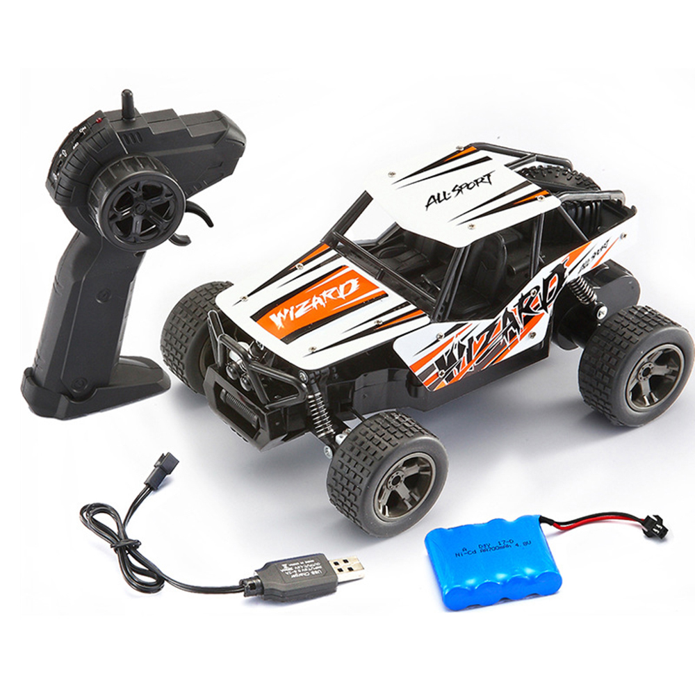 1:20 RC Car 2.4GHz Remote Control Car Toy with Alloy Version Off Road Racing Truck Cross Country Climbing Vehicle 2017 navigator rc racing car 2163 4ch 1 8 60cm large size off road remote control car truck vehile model toy with led light
