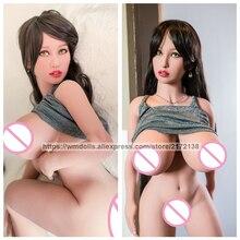 WMDOLL 140cm Silicone Sex Dolls Real Doll Sex Robot Dolls Lifelike Big Breast Artificial Vagina For Men Sex Doll