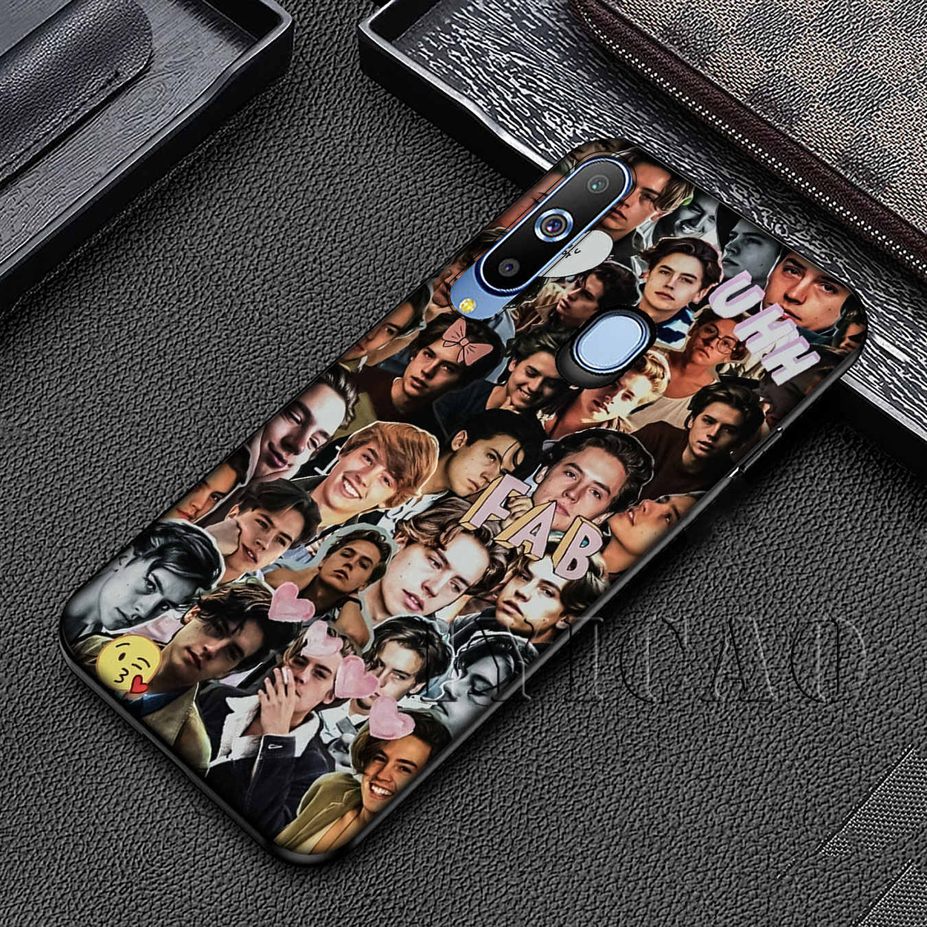 IYICAO ривердейл Cole Sprouse Мягкий силиконовый чехол для samsung Galaxy A70 A50 A40 A30 A10 M10 M20 M30 черная крышка
