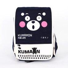 Koreanische Neue Mode Kumamon Leinwand Cartoon Animation Rucksack Männer Frauen Druck Holographische Rucksack Laptop Schule Schultasche