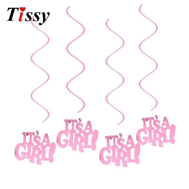 Aliexpress Buy 6pcs Pinkblue Ceiling Hanging Swirl