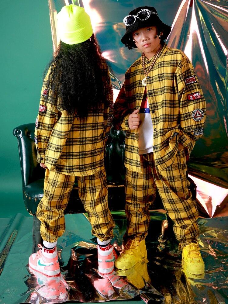 primavera outono crianças meninos meninas jazz hip hop dancepants