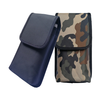 Double cell phone Waist Pack, For UmiDigi S2 Pro Nylon Pouch Bag with Belt Clip Holster Case For Prestigio Grace R5 LTE case