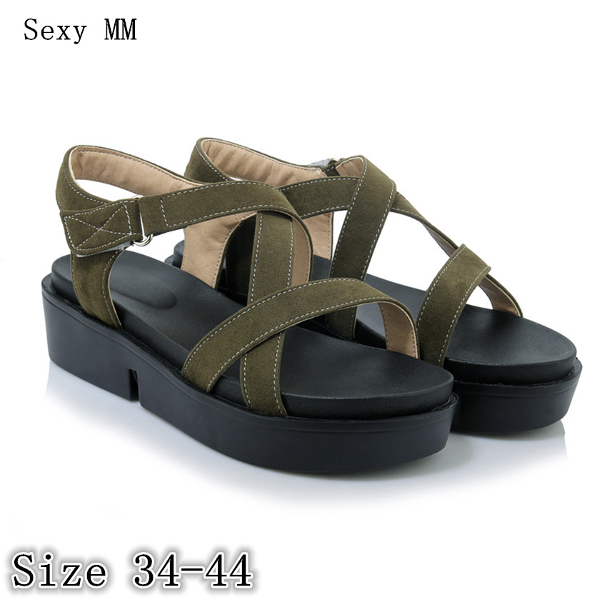 Women Platform Wedge Sandals Low High Heel Shoes Slippers Flip Flops Woman Wedges Gladiator Sandals Plus Size 34-40 41 42 43 44 phyanic 2017 gladiator sandals gold silver shoes woman summer platform wedges glitters creepers casual women shoes phy3323