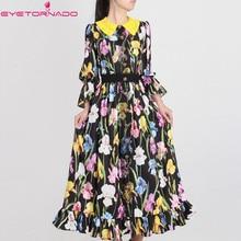 b9f6f4cc6312d Buy tulip print dress and get free shipping on AliExpress.com