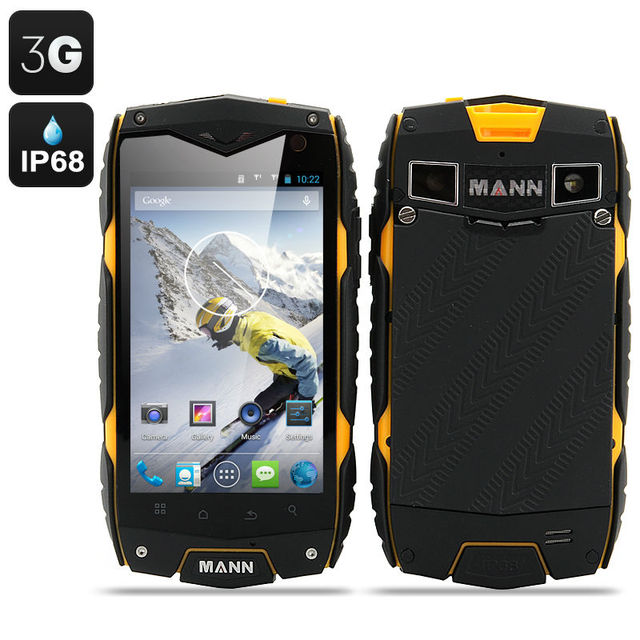 ip68 Waterproof Rugged phone Shockproof  original Mann ZUG3 A18 Qualcomm Quad Core 1GB RAM Android cellphone 3G GPS ZUG3 A8