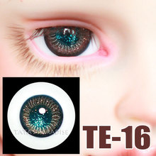 14mm 16mm Green pupil gold Eyeballs BJD Eyes available for 1 3 1 4 1 6