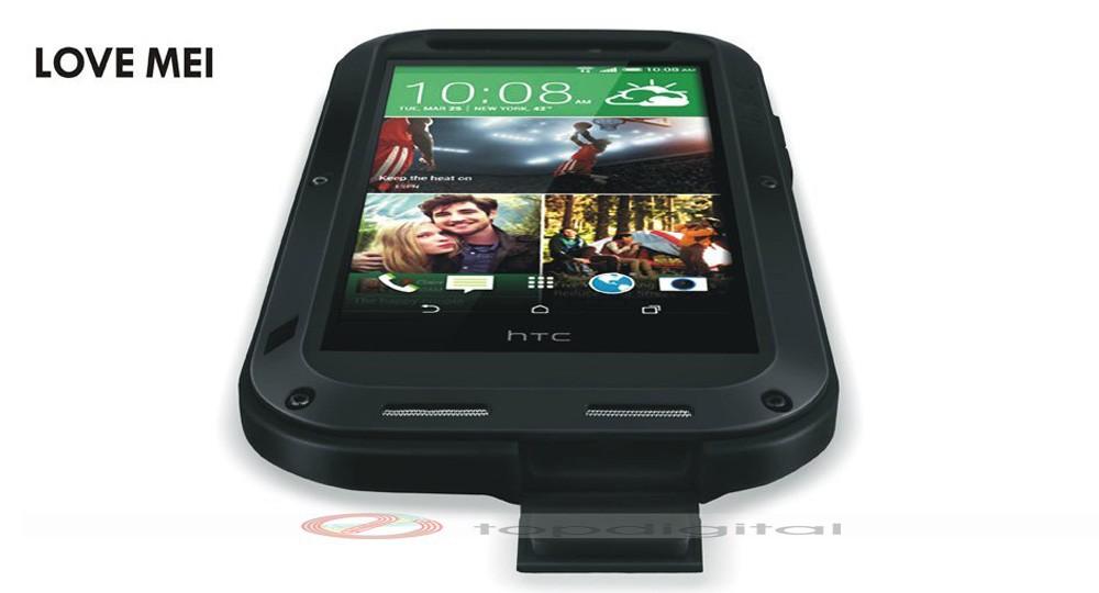 LOVE MEI Shockproof Dirtproof Waterproof Metal Case For HTC One 2 M8 (6)