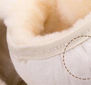 Image 5 - 100% lã trança na cobertura do volante do carro aperto do freio de mão/lã de alta qualidade pelúcia mudança de engrenagem colar
